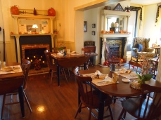 Breakfast room at the Jacob Rohrbach Inn