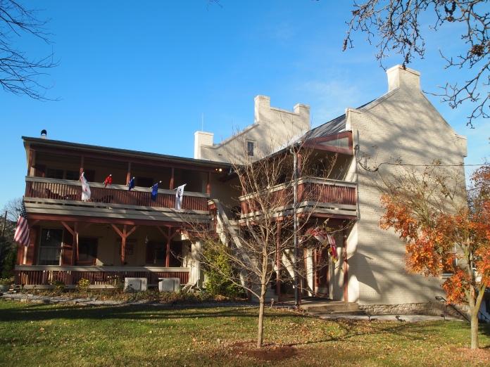 backyard of the Jacob Rohrbach Inn