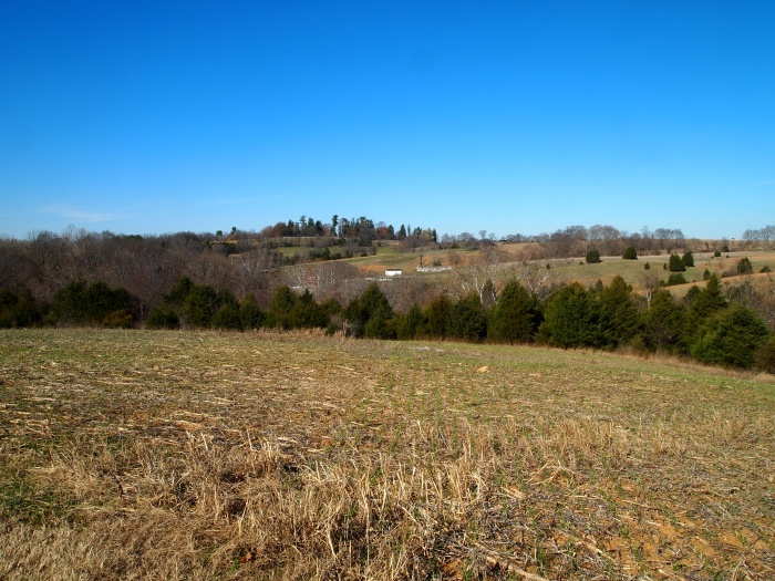 View of Antietam Valley and Sherrick Farm