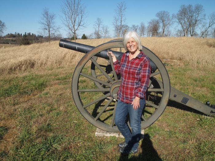 Me with cannon at Artillery Ridge