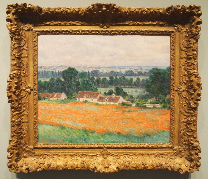 Claude Monet - Field of Poppies, Giverny (1885)