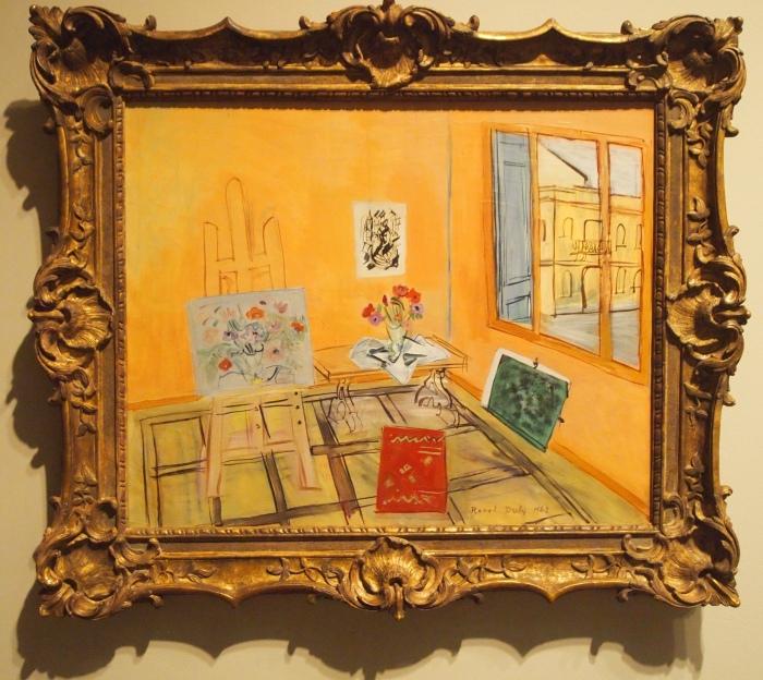 Raoul Dufy - L'Atelier au Bouquet (1942)