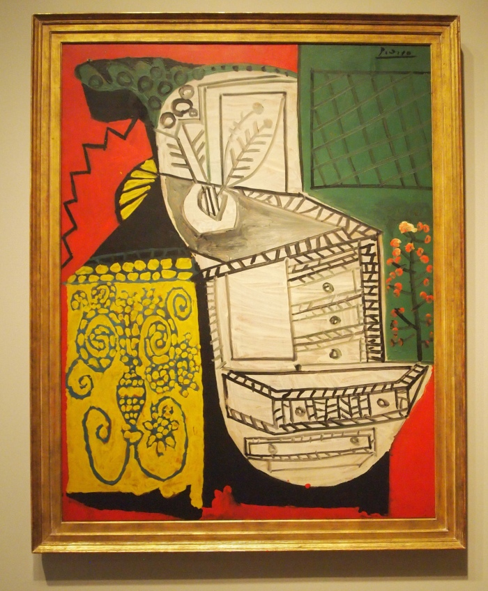 Pablo Picasso - The Chinese Chest of Drawers (1953)
