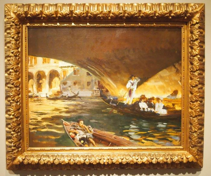 John Singer Sargent - The Rialto, 1909