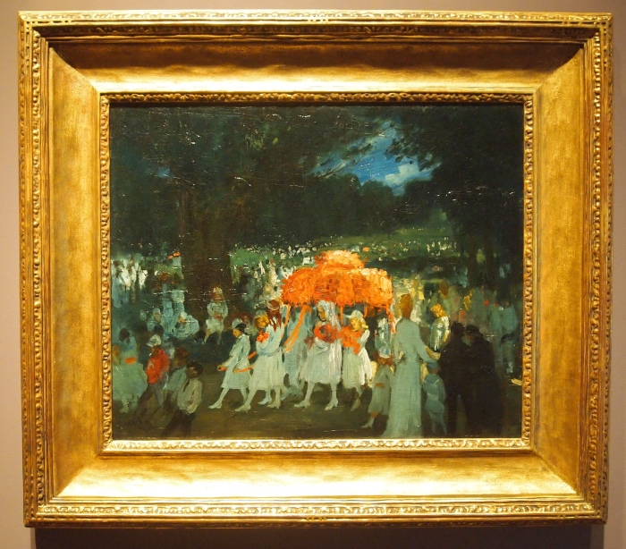 George Bellows - May Day in Central Park, 1905