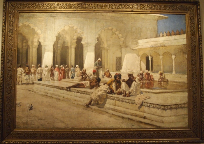 Edwin Lord Weeks - The Hour of Prayer at the Pearl Mosque, Agra, ca. 1888-89