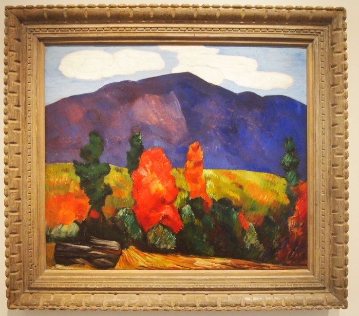 Marsden Hartley - Franconia Notch (Mt. Lafayette, Franconia Notch, N.H.), 1930