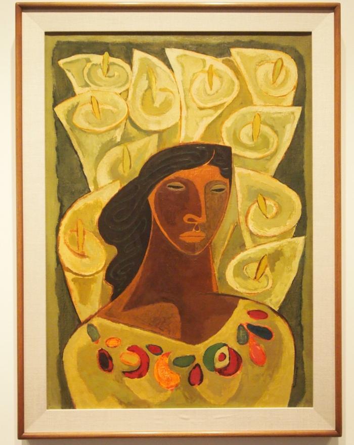 Oswaldo Guayasamin - Cartuchos (Lilies), 1949
