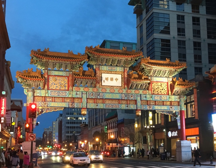 The Chinatown gate