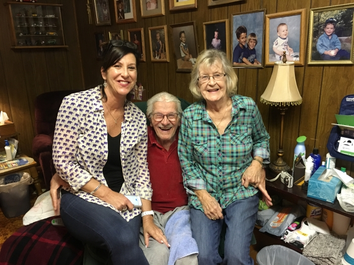 Marlene, Uncle Bill and Aunt Judy