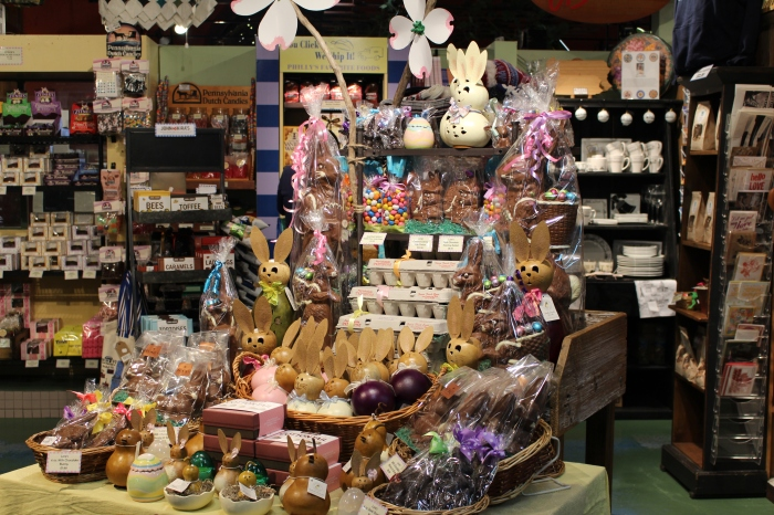 Easter display at the Pennsylvania General Store
