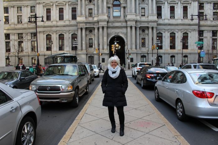 me in front of City Hall