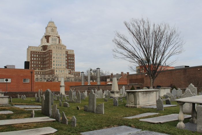 Churchyard in Historic District