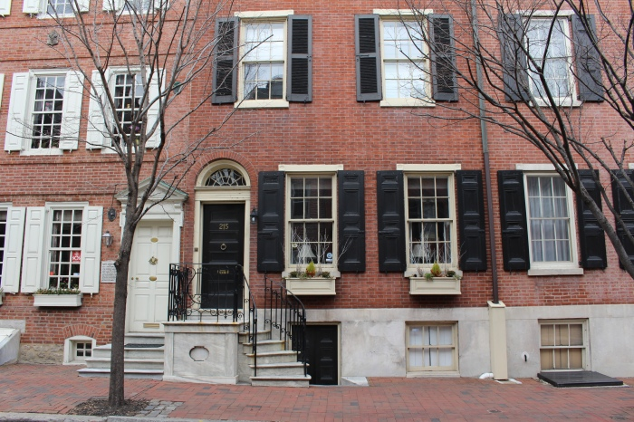 home in Phiadelphia's Historic District