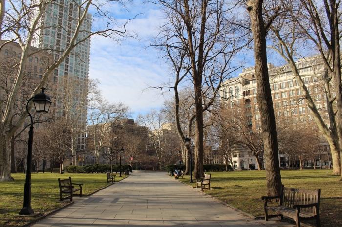 a stroll through the park