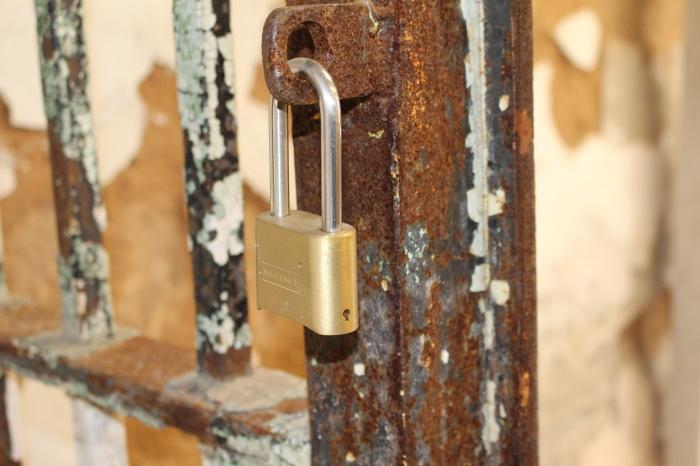 modern lock