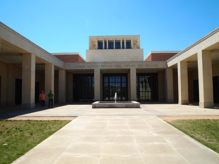 Entrance to the George W. Bush Presidential Library and Museum