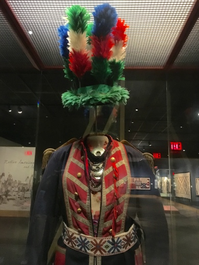 headdress in the Native American Gallery