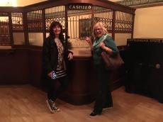 Bank customers Charlene & Martha
