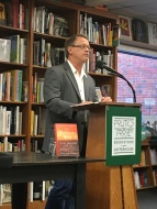 Bill at Politics & Prose for his book talk