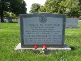Gene and Shirley's grave