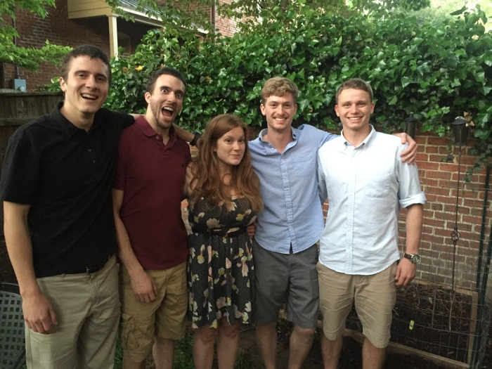 Adam, Alex, Sarah, Nicholas and Cody