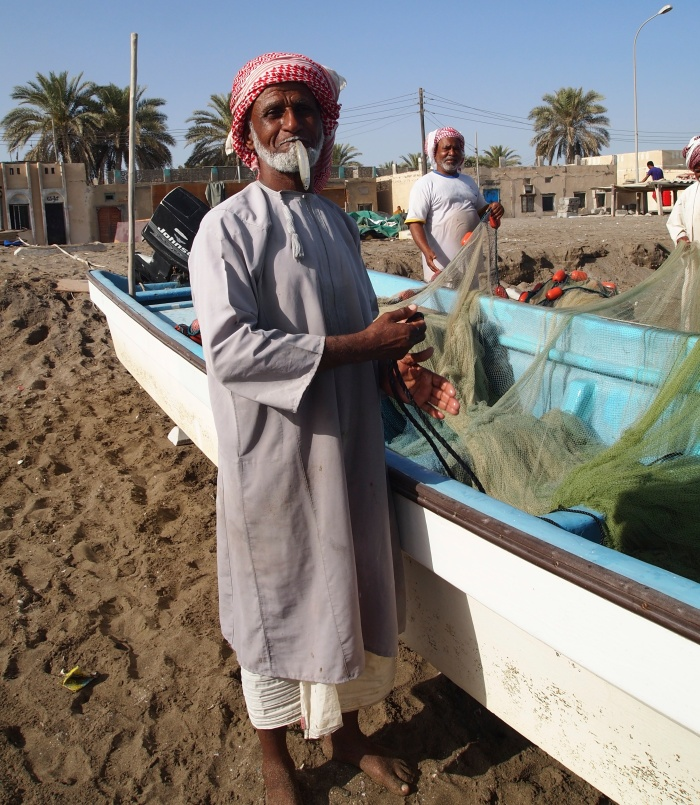 Fisherman at Al Musanaah
