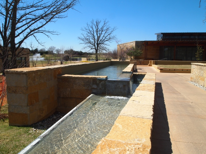 Chickasaw Cultural Center grounds