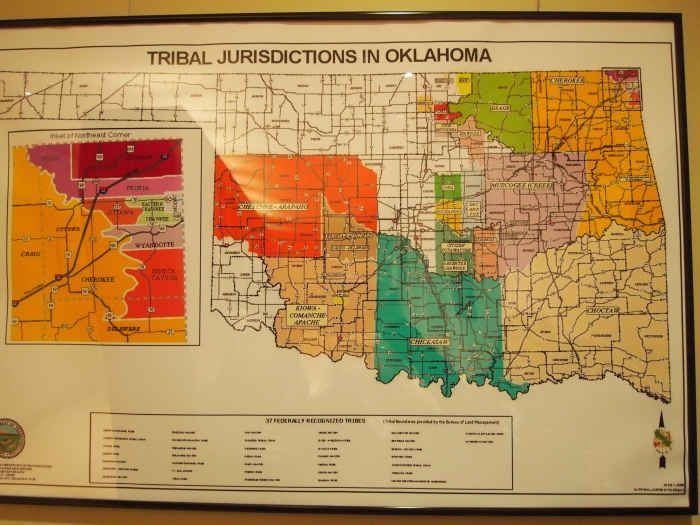 Oklahoma Tribal Areas