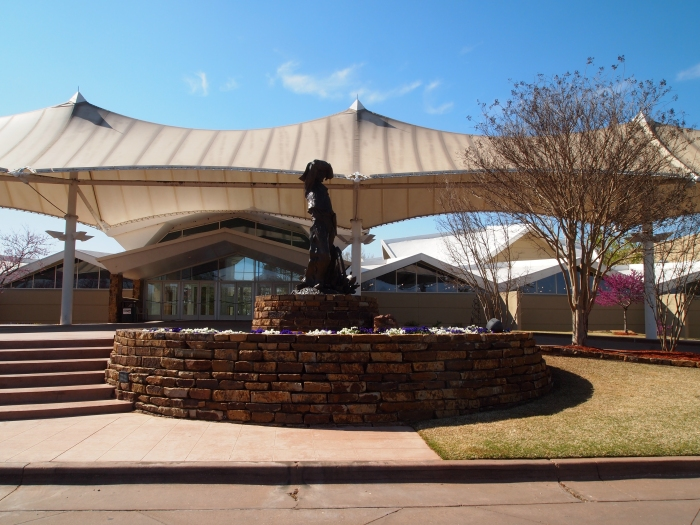 Entrance to the National Cowboy & Western Heritage Museum
