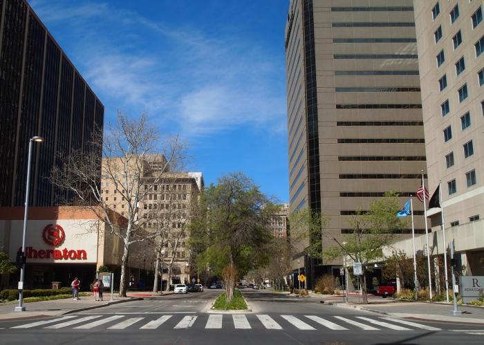 urban hiking in Oklahoma City