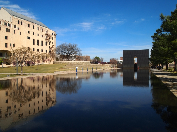 The Reflecting Pool and the Memorial Museum