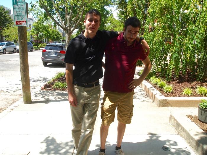 Adam and Alex