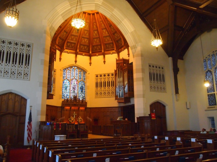 Inside Grace Covenant Presbyterian Church