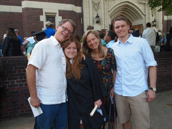 Bill, Sarah, Kema and Cody