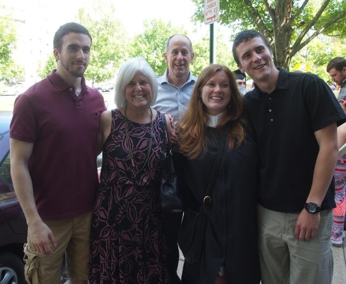 Alex, me, Mike, Sarah and Adam