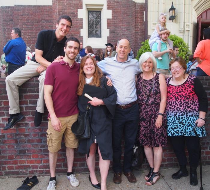 Adam, Alex, Sarah, Mike, me and Barbara
