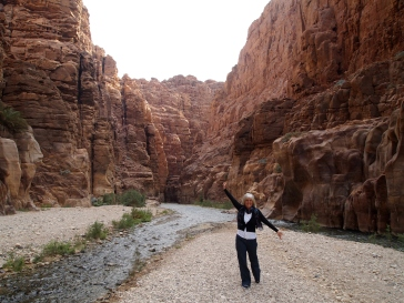 Me at Wadi Mujib Nature Reserve