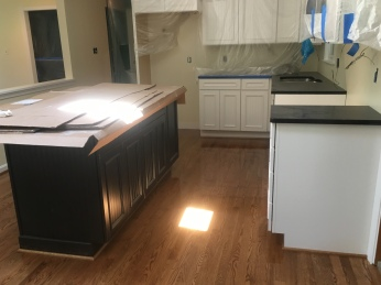 kitchen and wood floors