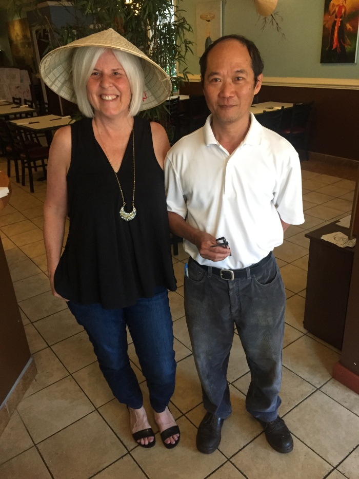 me with Dong, the owner of Eastwind