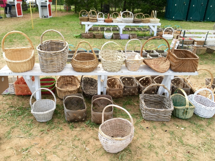 flower-picking baskets