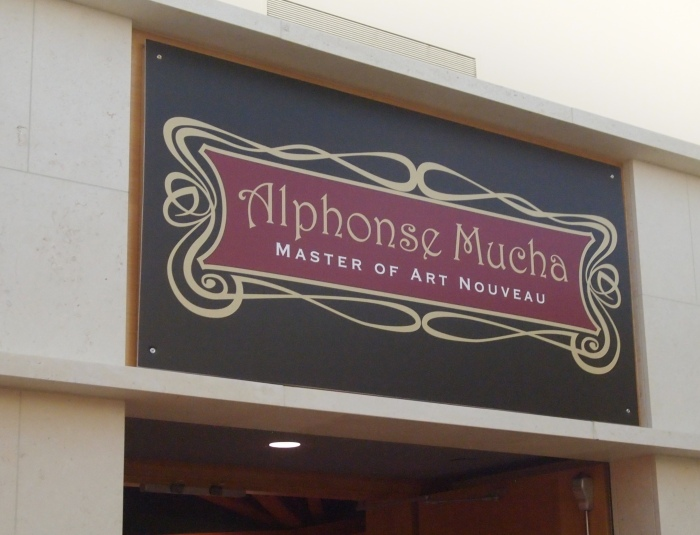 The Alphonse Mucha exhibit