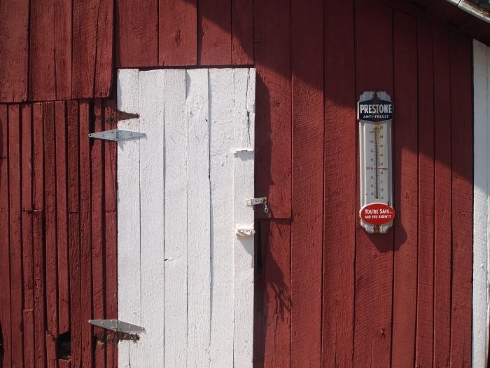 Barn close-up