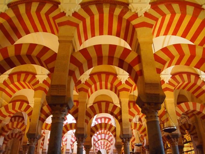 arches in Cordoba's Mezquita