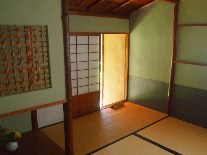 Inside the Japanese Tea House