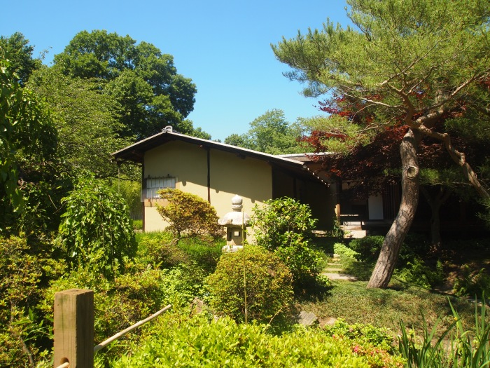 The tea house at Shofuso