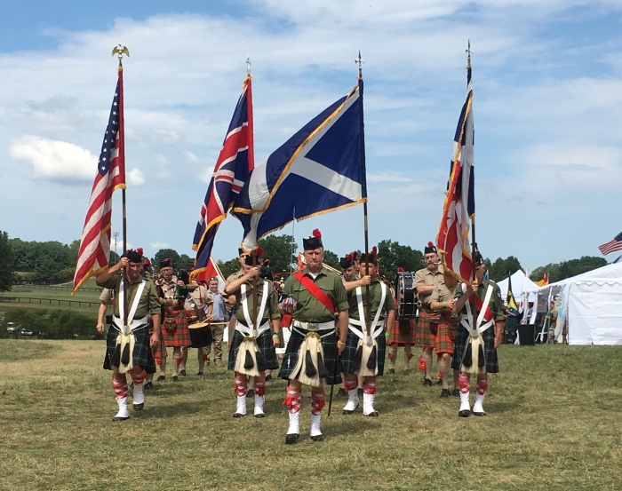 Scottish paraade
