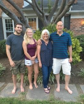 Alex, Ariana, me and Mike
