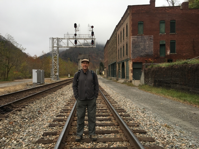 Mike on the CSX Railroad line