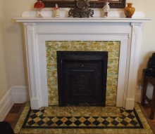 Fireplace in the Harvey Room